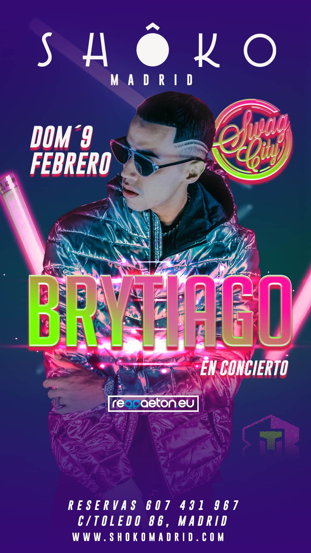 BRYTIAGO in concert | SWAG CITY